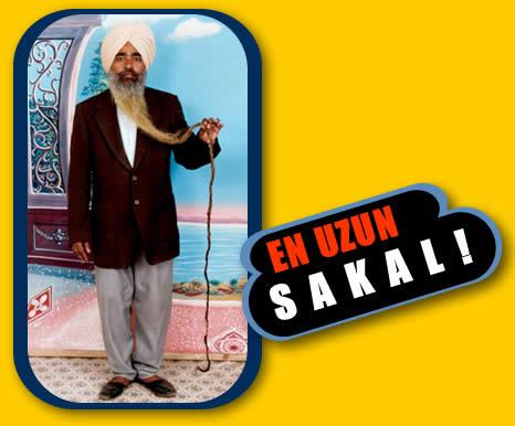 Dünyanýn En Uzun Sakalý