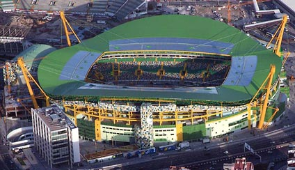 Estadio Jose Alvalade XXI Sporting Clube de Portugal