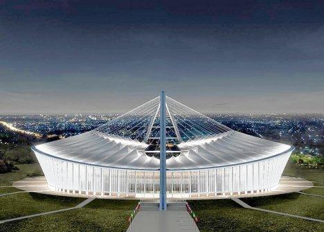 Moses Mabhida WC 2010 Stadium , Durban