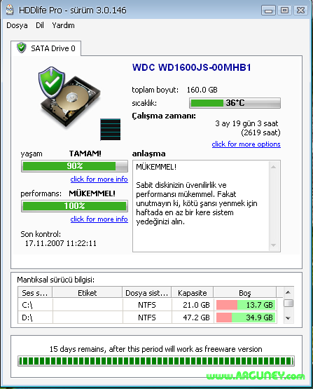 HDD Life Pro