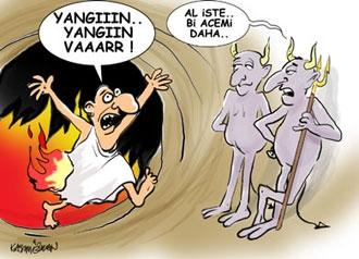 Azrail Karikatürleri....