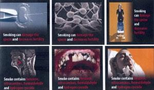 Ýþte sigara paketlerinde yer alacak resimler