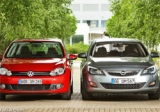 Golf ve Opel Astra düellosu