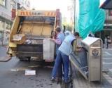 Trabzon'da çöpler fýkra gibi toplanýyor