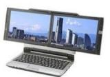 Çift ekranlý bilgisayar