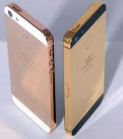 iPhone5 24 ayar altýn kaplama