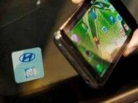 Hyundai cep telefonuyla çalýþan teknolojisini tanýttý