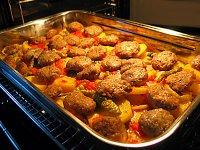 Fýrýnda köfte ve patates