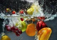 Su içeriði yüksek yiyecekler